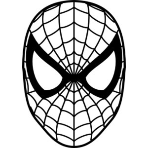 Library of spiderman svg library download black and white