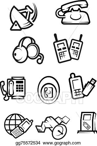 Library of telephone wire picture transparent library into