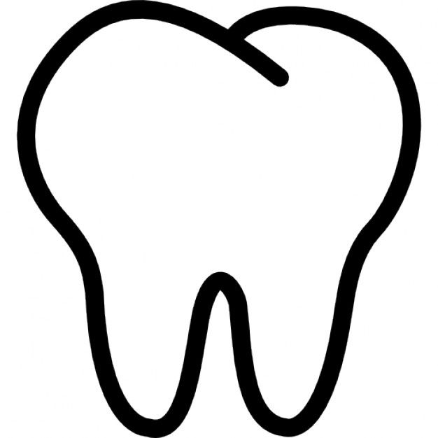 Library of tooth graphic transparent template png files