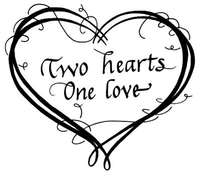 Download Library of two hearts become one svg transparent stock png ...