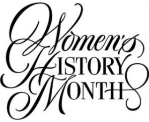 Library of women s history month 2019 vector royalty free