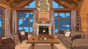 cabin living clipart background wood interior wooden cartoon vectortoons clip library glamorous cartoons royalty