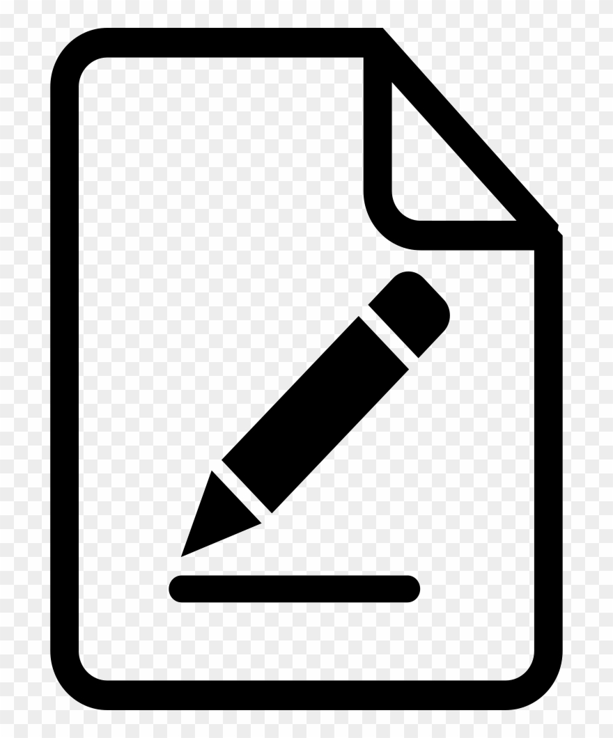 Library of writing icon svg transparent download png files