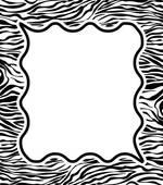 Library of zebra print jpg transparent stock border free