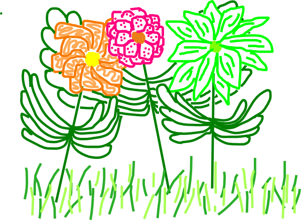 Animated Spring Flowers Pic