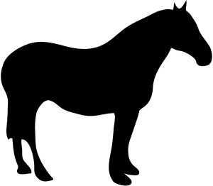 silhouette animal clip farm silhouettes clipart horse simple animals cliparts pony draft animaux library clipartpanda clipartbest designs getdrawings views nutria