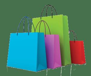 shopping bags cartoon clip clipart