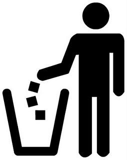 Buang Sampah Pada Tempatnya Logo : buang, sampah, tempatnya, Buang, Sampah, Symbol, ClipArt