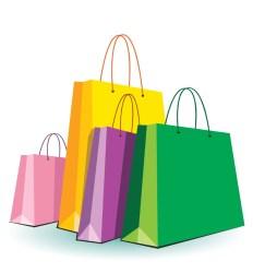 cartoon shopping bags clipart cliparts computer designs