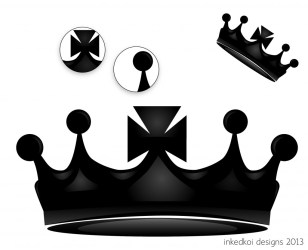 crown king vector designs clip clipart vision clipartbest