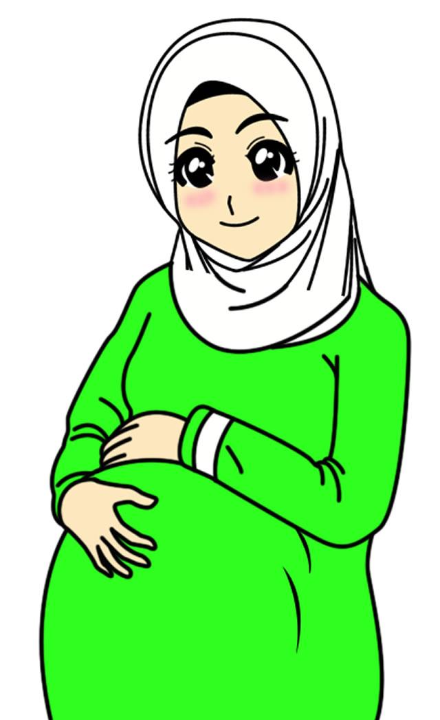 Gambar Kartun Ibu : gambar, kartun, Kartun, Muslim, 54583, UPSTORE, ClipArt