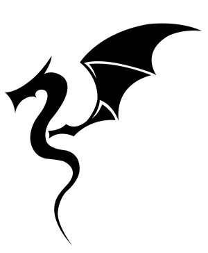 dragon tattoo simple tattoos clip clipart drawing designs deviantart celtic trendy drawings cool tatoo google tatoos library arm am discover