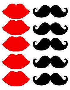 Printable Lips Template : printable, template, Stencil, Printable, ClipArt