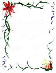 border flower borders clipart simple clip september frame cliparts caratulas para calendar designs flowers hd rose bordes printable library marcos