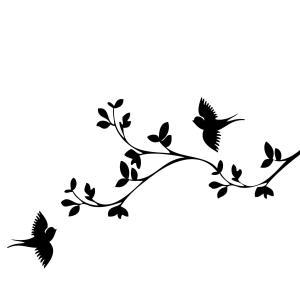 bird silhouette stencils designs clip clipart