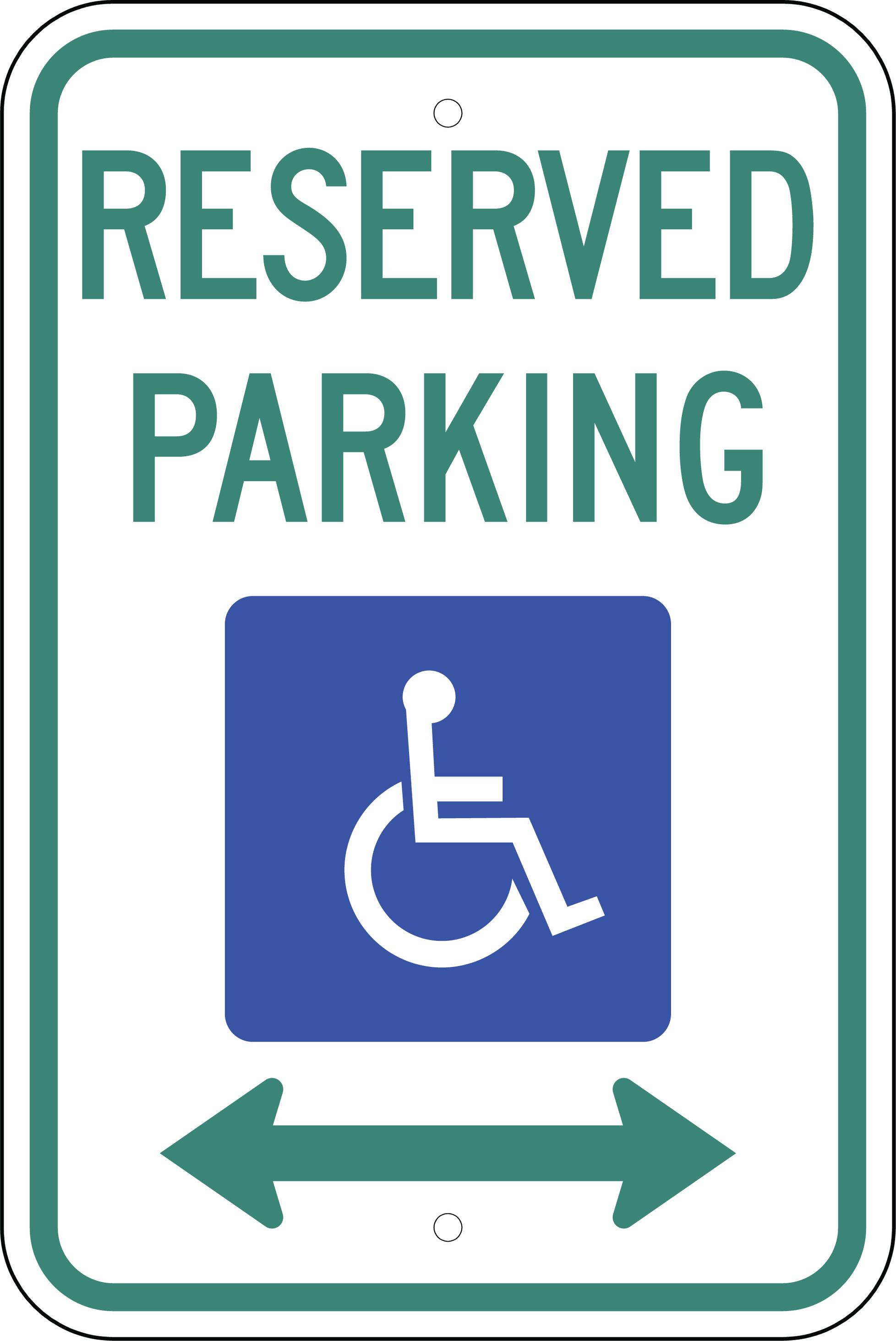 Printable Handicap Sign : printable, handicap, Printable, Handicap, ClipArt