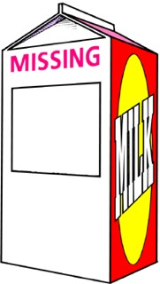 Missing Person Milk Carton Template : missing, person, carton, template, Missing, Person, Carton, Template, ClipArt