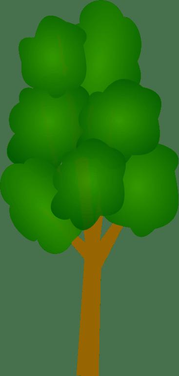Pohon Animasi Png : pohon, animasi, Ikon,, Kartun,, Vektor,, Pohon, ClipArt