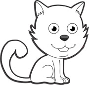 cat clipart animals animal clip outline cute cliparts kitten clipartbest bay library clipground gclipart