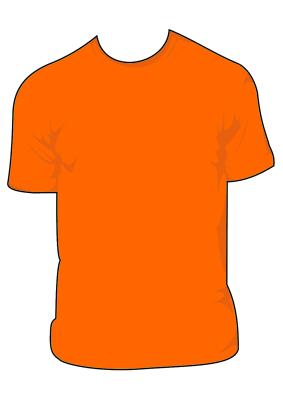 Vector Kaos Png : vector, Polos, Merah, ClipArt