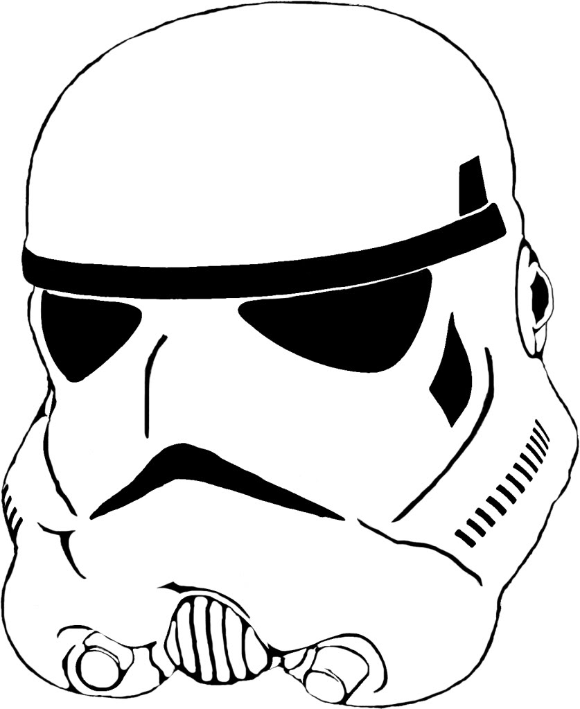 Stormtrooper Vector : stormtrooper, vector, Stormtrooper, Helmet, Vector, ClipArt