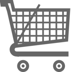 shopping cart trolley clipart grey cartoon clip grocery trolly cliparts basket library vector clker