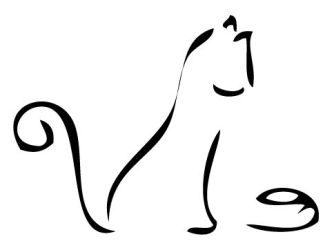 Simple Cat Drawing ClipArt Best