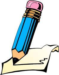 Gambar Buku Tulis Animasi : gambar, tulis, animasi, Gambar, Animasi, Pensil, ClipArt