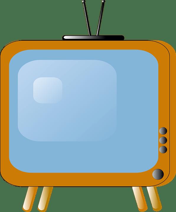 Gambar Tv Animasi : gambar, animasi, Gambar, ClipArt
