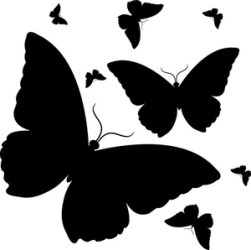 butterfly clipart butterflies cliparts silhouette silhouettes google clipartbest computer designs