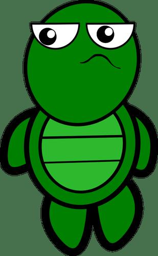 Gambar Kura Kura Animasi : gambar, animasi, Penyu, Kartun, ClipArt