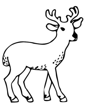easy deer clipart clip buck webstockreview transparent