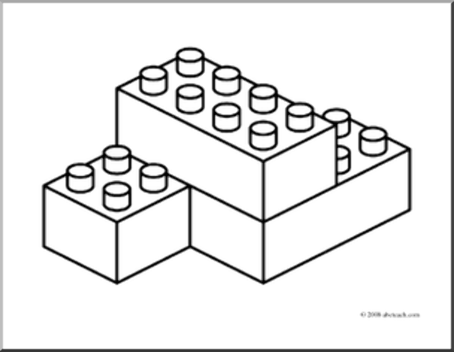 Download High Quality lego clipart outline Transparent PNG