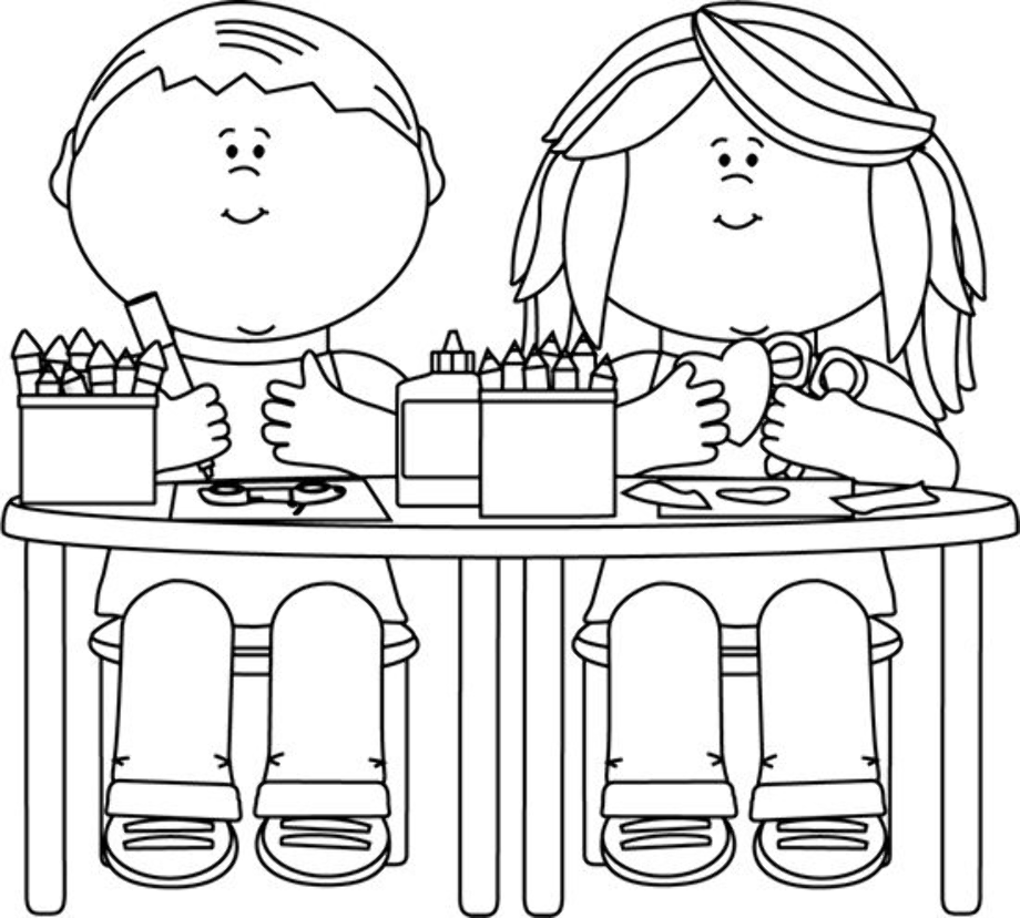 Download High Quality school clipart black and white