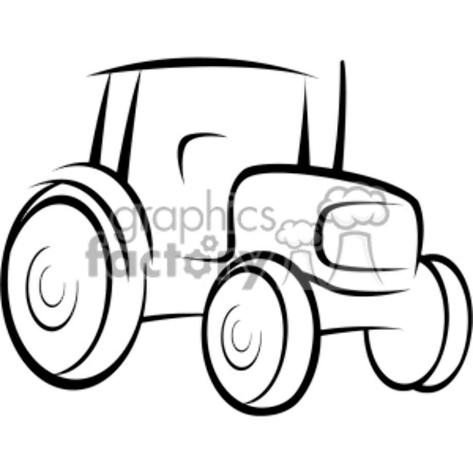 Download High Quality tractor clipart vector Transparent