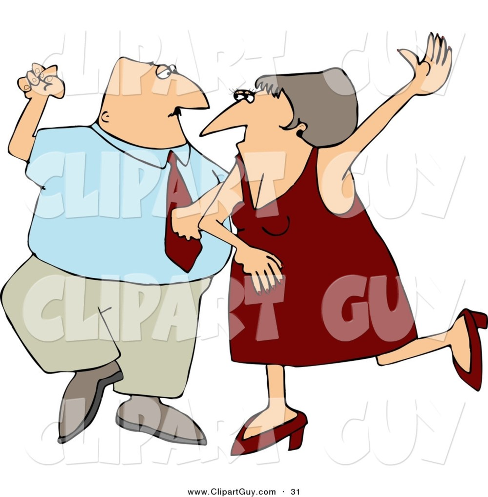 medium resolution of clip art of a happy man and woman husband and wife dancing together on a dance floor