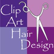 clip art hair design 400 east