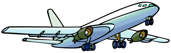 clip art airplane clipart clipartcow