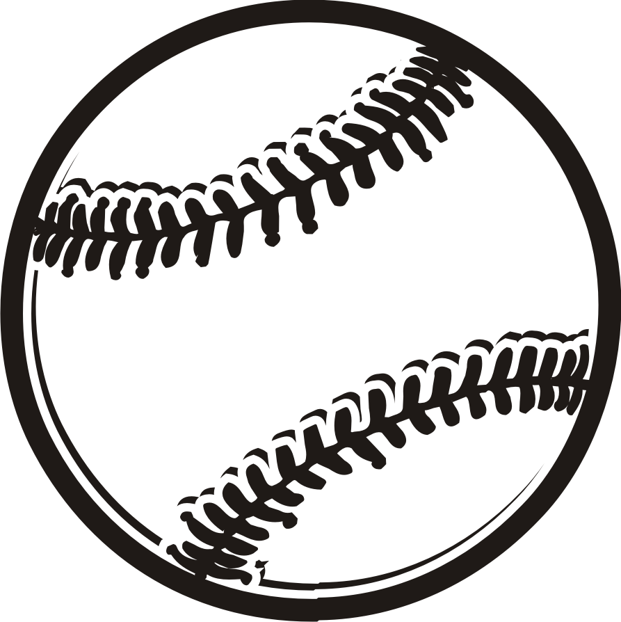 hight resolution of baseball clip art free clipart clipartcow 3