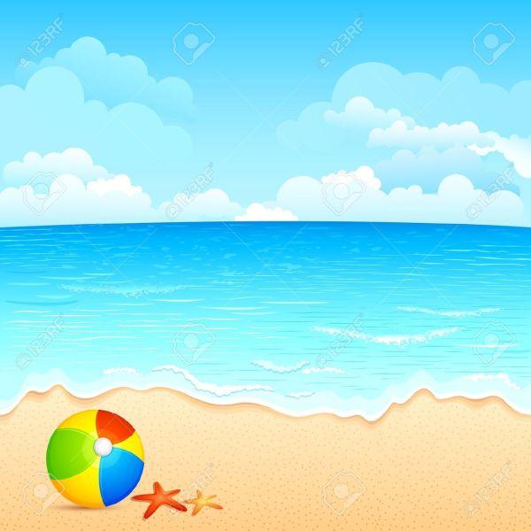 beach clipart free