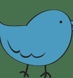 bird clipart image clip art cartoon of a blue bird standing up 2 [ 991 x 867 Pixel ]