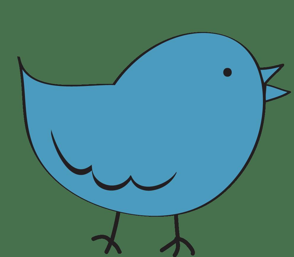 medium resolution of bird clipart image clip art cartoon of a blue bird standing up 2
