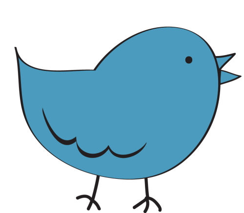 small resolution of bird clipart image clip art cartoon of a blue bird standing up 2