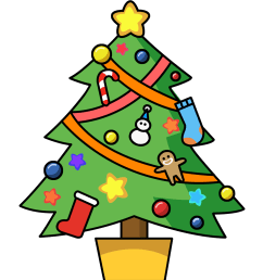 christmas clip art free clipart images 2 [ 1200 x 1386 Pixel ]