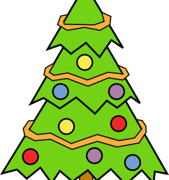 clipart christmas tree free clipart images [ 1979 x 3247 Pixel ]