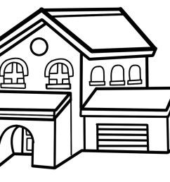 clipart house clipart cliparts for you 4 [ 1024 x 813 Pixel ]