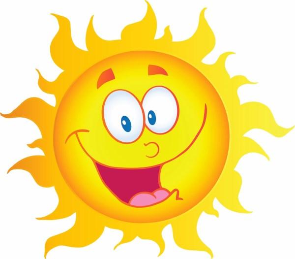 sad sun clip art free clipart