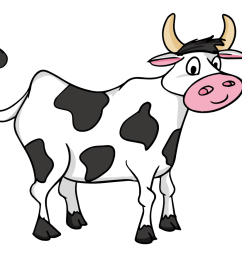 cow clip art black and white free clipart images [ 1000 x 880 Pixel ]