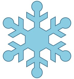 cute snowflake clipart snowman catching snowflakes clip art image [ 1500 x 1500 Pixel ]