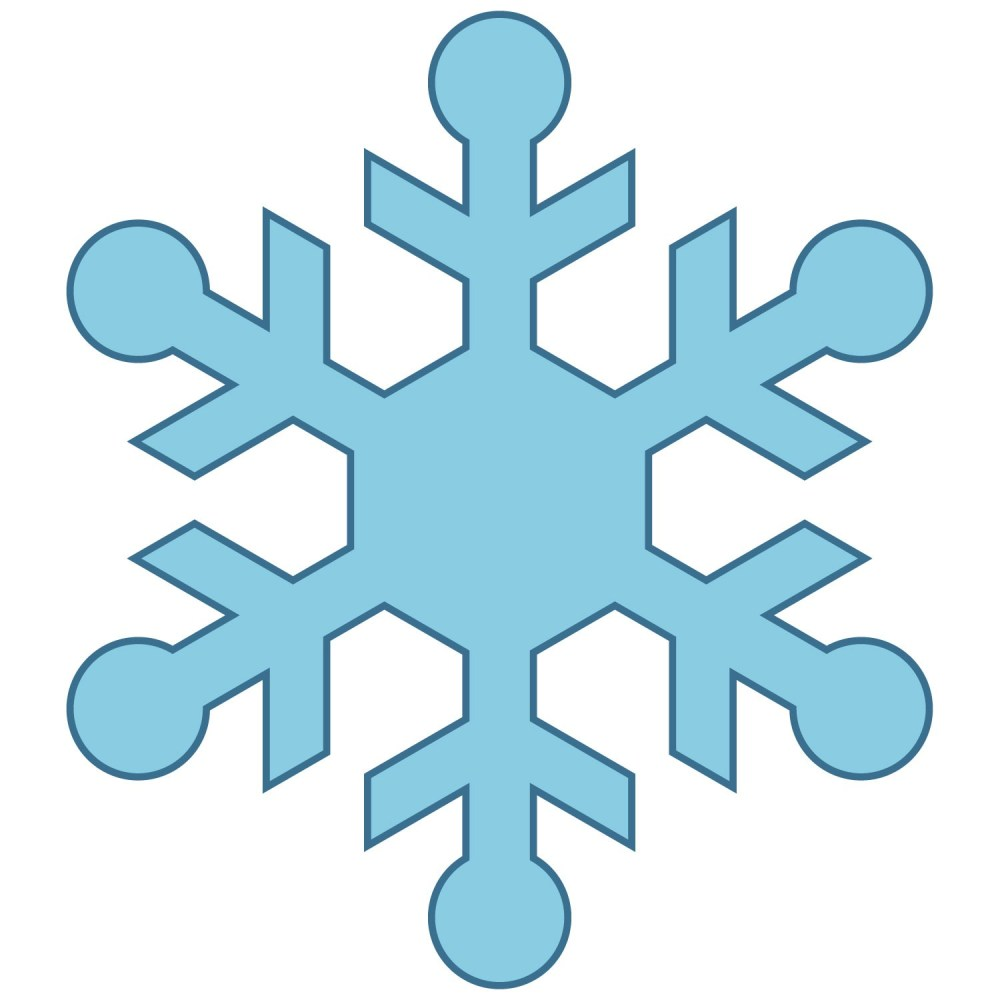 medium resolution of cute snowflake clipart snowman catching snowflakes clip art image
